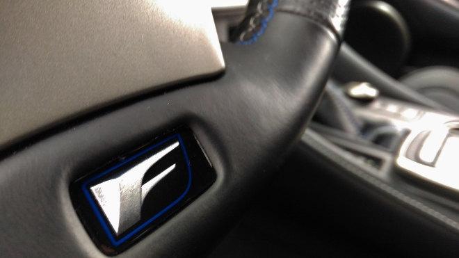 Lexus RC F Lenkrad, Lederlenkrad