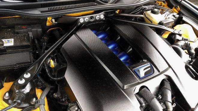 Lexus RC F Motor V8 Sauger