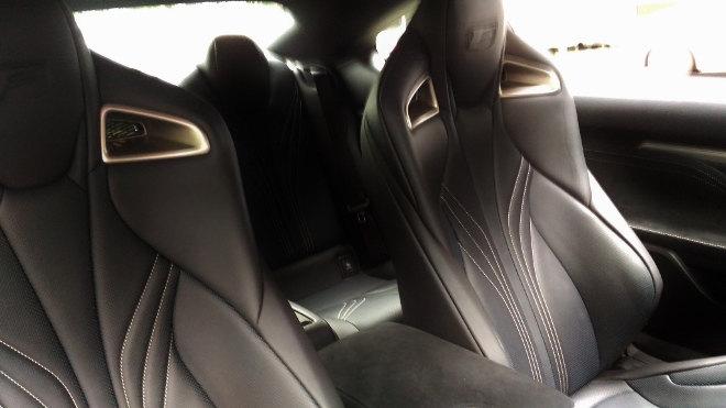 Lexus RC F Sitze hinten, Fond
