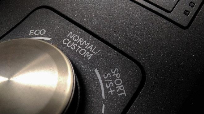 Lexus RC F Regler Fahrprogramme