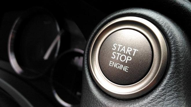 Lexus RC F Startknopf 2018