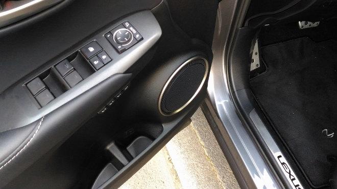 Lexus NX 300h Hybrid Ablagen