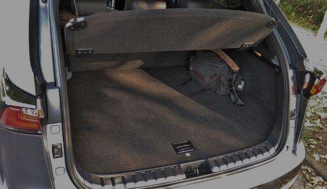 Lexus NX 300h Hybrid Kofferraum