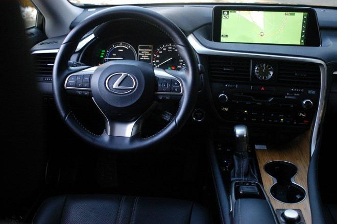 Lexus RX 450h Armaturenbrett
