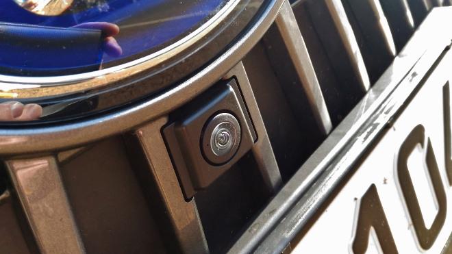 Frontradar Lexus ES Hybrid 300h