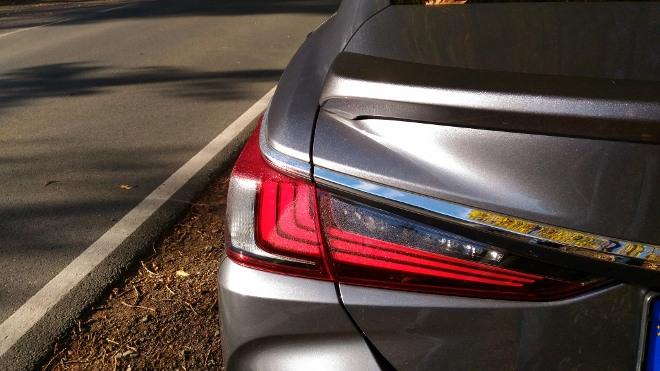 Lexus ES Hybrid 300h Heckleuchten