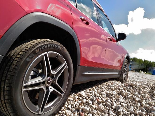 Mercedes GLB offroad, Bodenfreheit