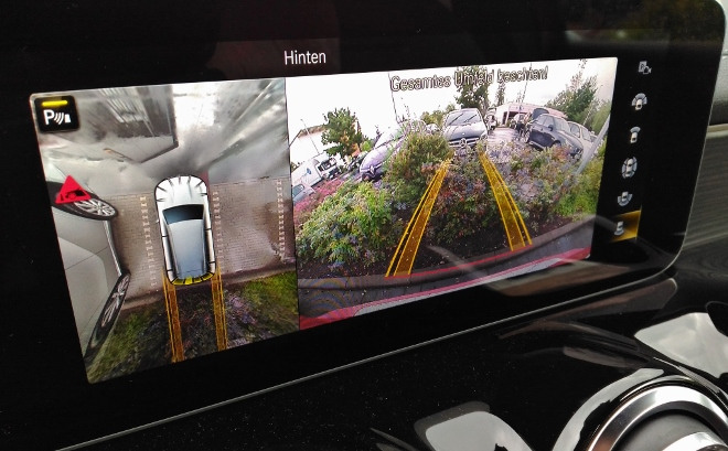 Mercedes GLB 220d Sicherheit und 360 Grad Kamera
