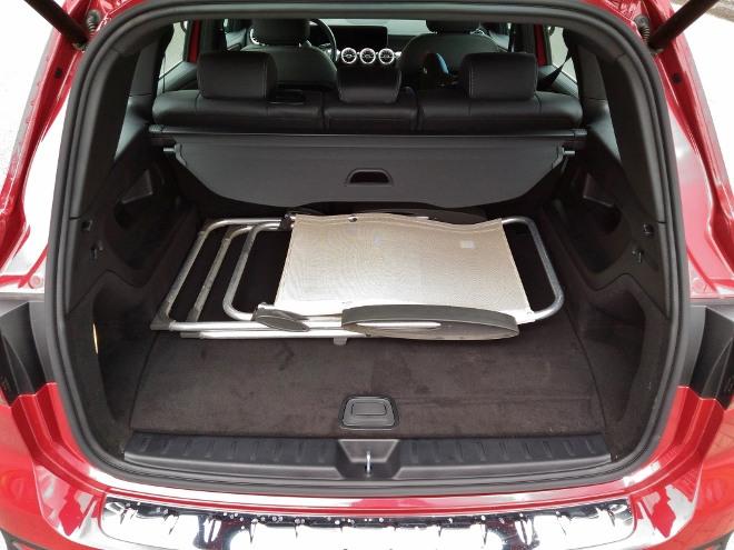 Mercedes GLB 220d Kofferraum