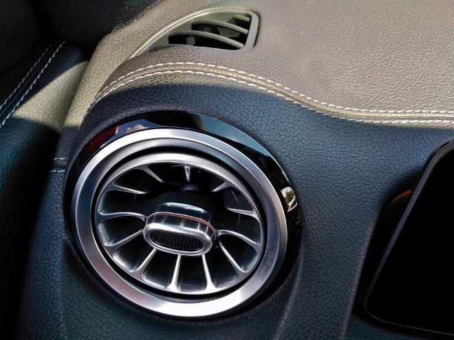 Mercedes GLB 220d Luftzufuhr seitlich