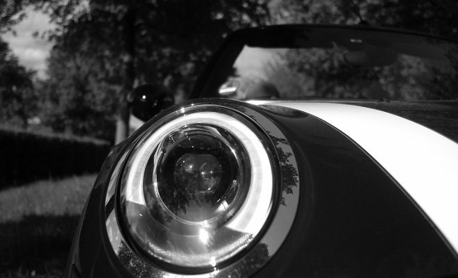 Mini Cooper D Cabrio Front