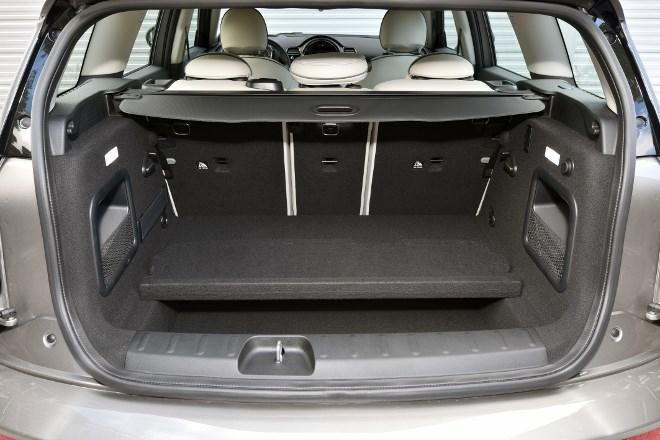 Neuer Mini Clubman Kofferraum