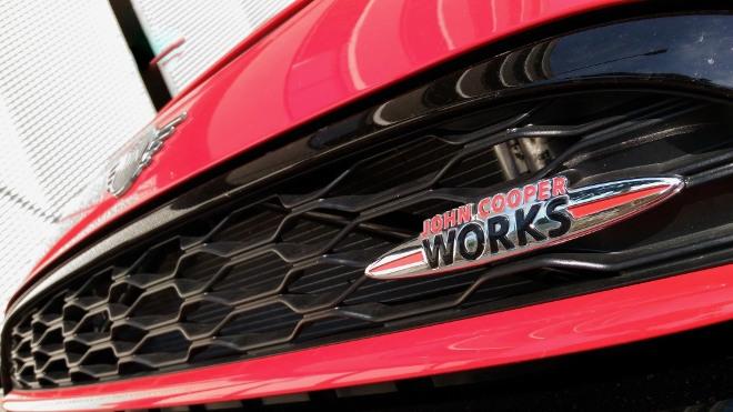 Grill Mini Cabrio John Cooper Works