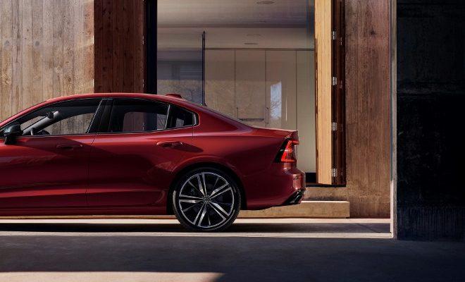 Neuer Volvo S60 R-design Heck