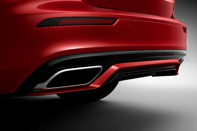Neuer Volvo S60 R-design Endrohr