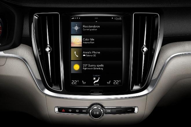 Neuer Volvo S60 Bildschirm