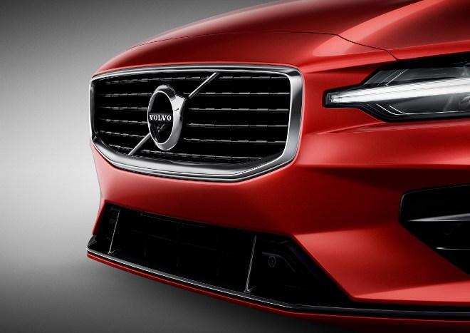 Neuer Volvo S60 R-design Frontpartie