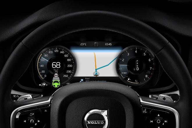 Neuer Volvo S60 Navigation