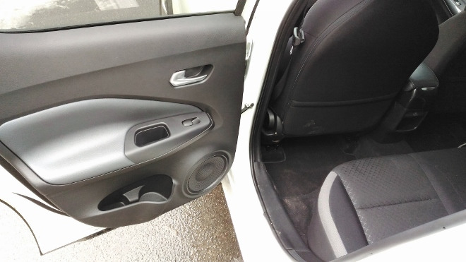 Nissan Juke 2 Sitzbank