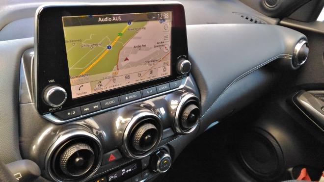 Nissan Juke 2 Touchscreen