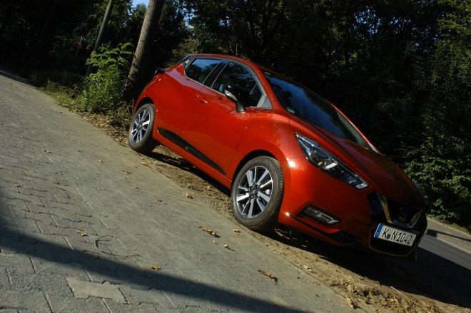 Nissan Micra 0.9 Turbo Seite rot