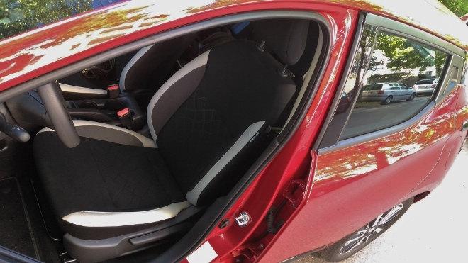 Nissan neuer Micra Innenraum Sitze