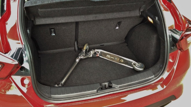 Nissan neuer Micra Kofferraum