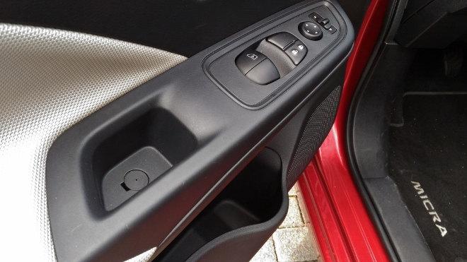 Nissan neuer Micra Innenraum Ablagen
