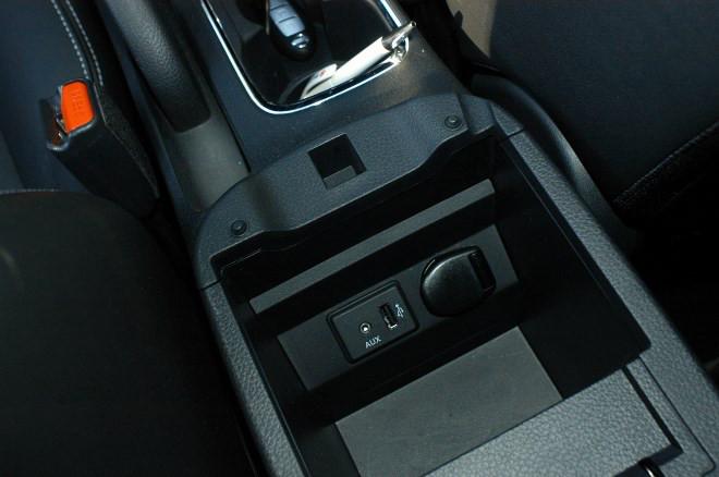 Nissan Pulsar 1.6 TestAblagen, Anschlüsse