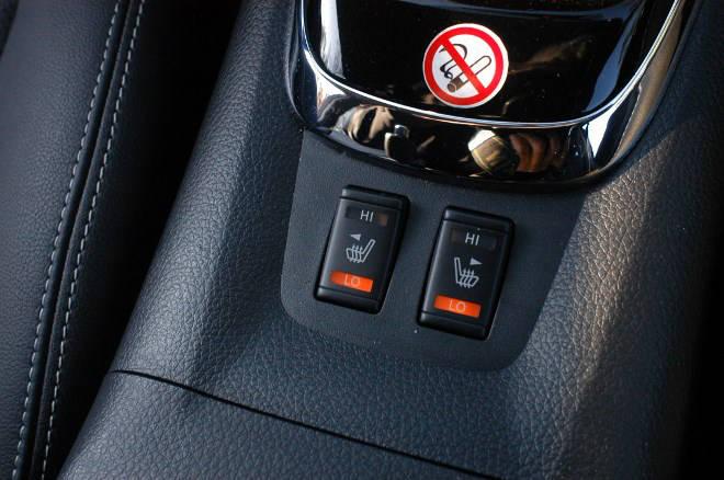 Nissan Pulsar 1.6 Test Sitzheizung