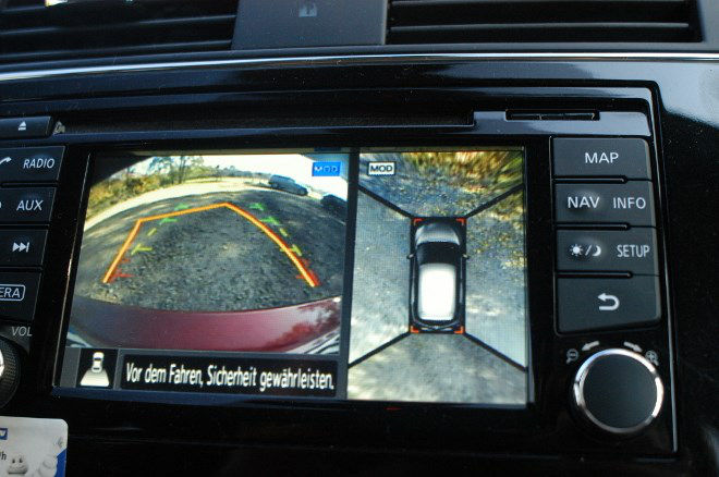Nissan Pulsar 1.6 Test Monitor, 360 Grad