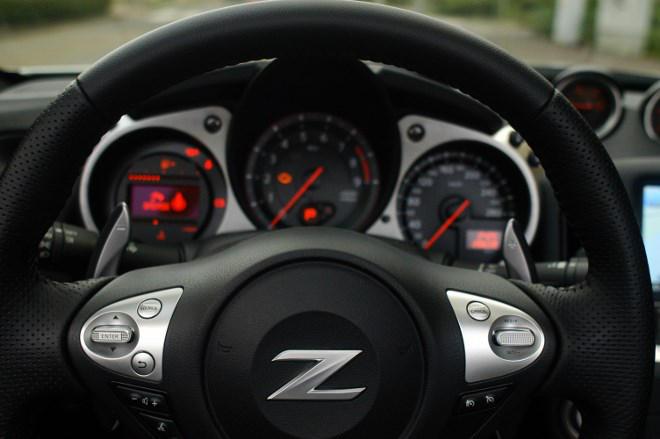 Nissan Z370 Instrumente