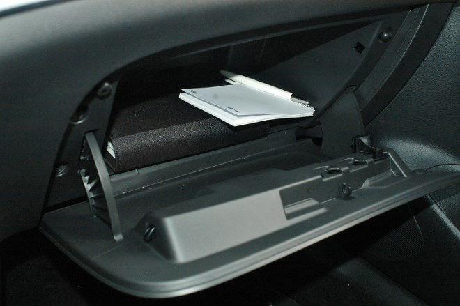Opel Astra Fünftürer Handschufach