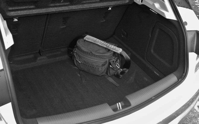 Opel Astra Fünftürer Kofferraum