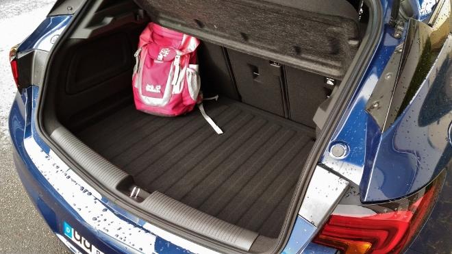 Opel Astra Facelift 8-Gang-Automatik Kofferraum