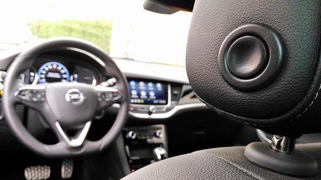 Opel Astra Facelift 8-Gang-Automatik Koptstützen Verstellung