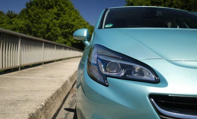 Opel Corsa im Test, Front Test