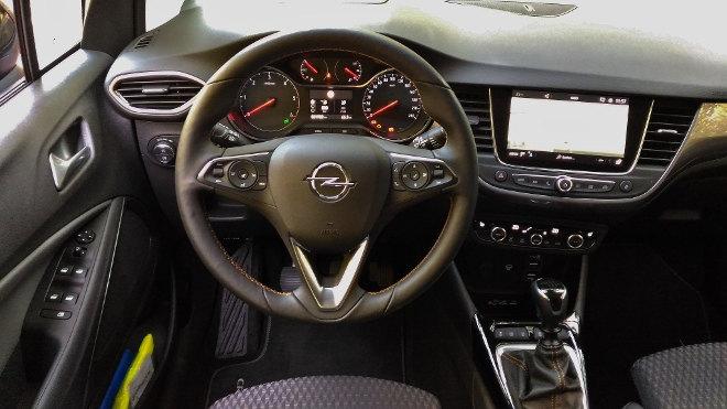 Opel Crossland X Armaturenbrett, Lenkrad, Schalter
