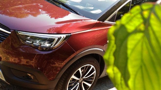 Opel Crossland X Front, Felgen, Scheinwerfer
