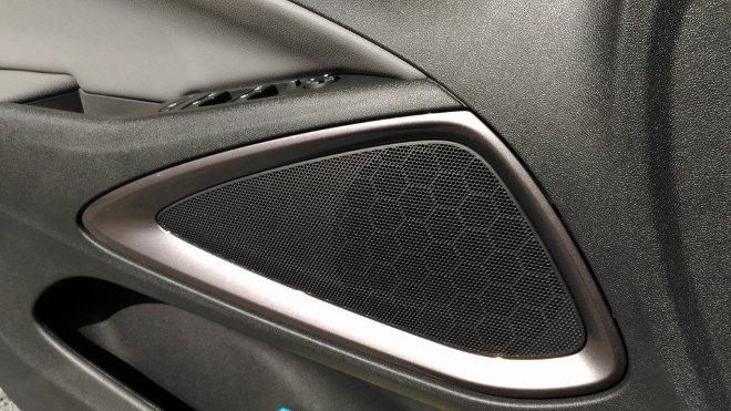 Opel Crossland X Soundsystem, Lautsprecher