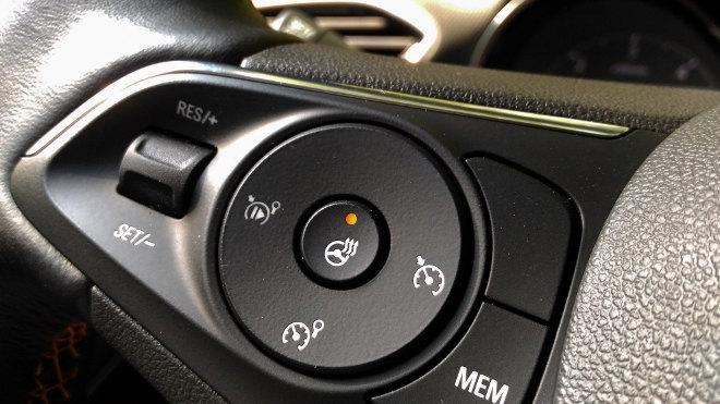 Opel Crossland X Lenkradheizung, Tempomat