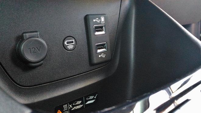 Opel Crossland X USB, AUX-Anschluss