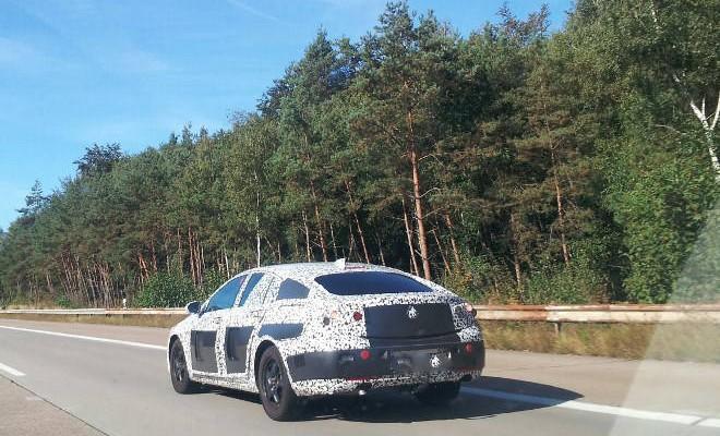 Opel Insignia 2017 Prototyp Fotos
