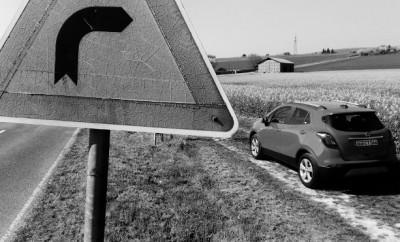 Opel Mokka X Diesel Heck Seite