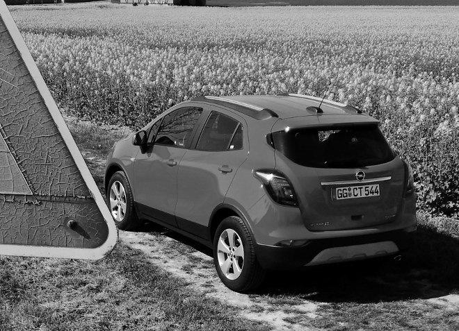 Opel Mokka X Diesel Heck