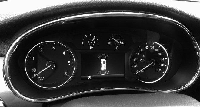 Opel Mokka X Diesel Instrumente