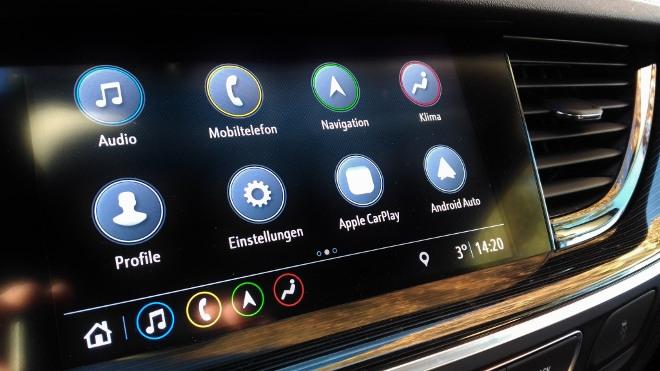 Opel Insignia Kombi Bildschirm Menü