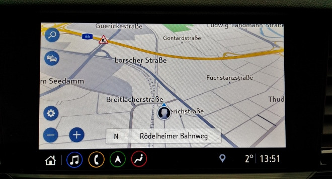 Opel Insignia Sports Tourer Navi Karte