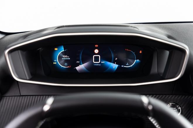 Peugeot 208 neu, 3D Digitalcockpit