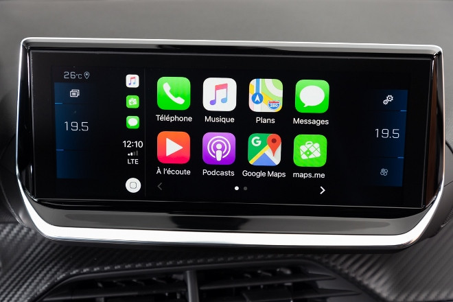Peugeot 208 neu, Apps